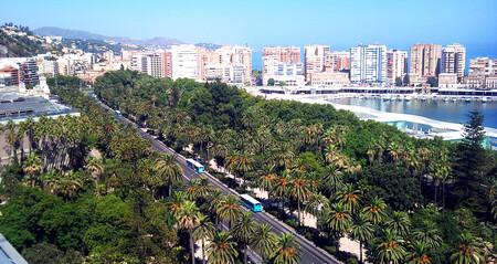 El Parque De Malaga
