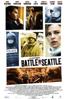 Póster de 'Battle in Seattle', con Charlize Theron