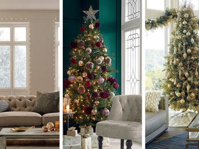 Diecinueve ambientes con árboles de Navidad para inspirarte en estas fiestas