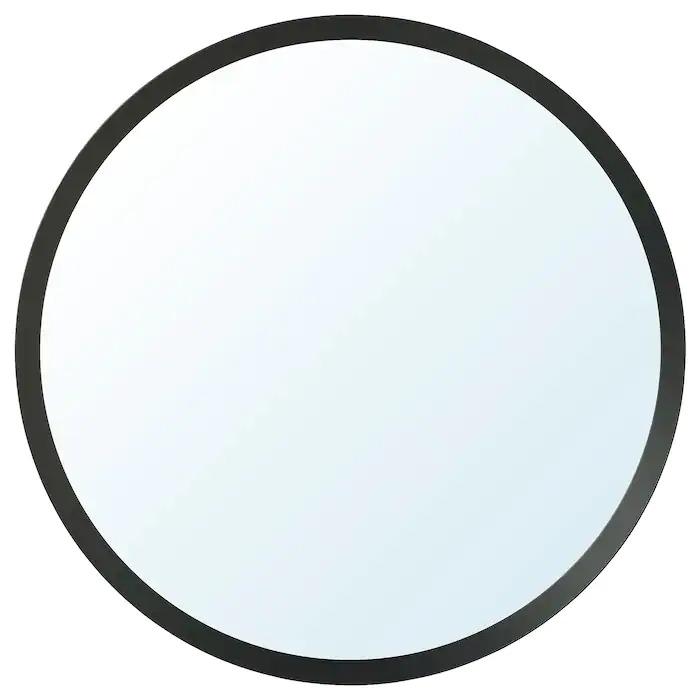 LANGESUND Espejo, gris oscuro80 cm