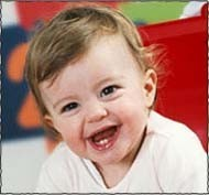 Mi bebé: su primer diente asoma