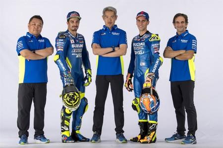 El Team Suzuki Ecstar presenta su nueva MotoGP en Sepang preparado para luchar por el podio