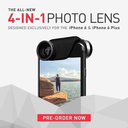 Olloclip 4-in-1 para iPhone 6 y 6 Plus, aumentando sus posibilidades para fotografía