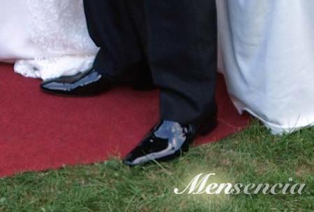 Zapatos charol lisos