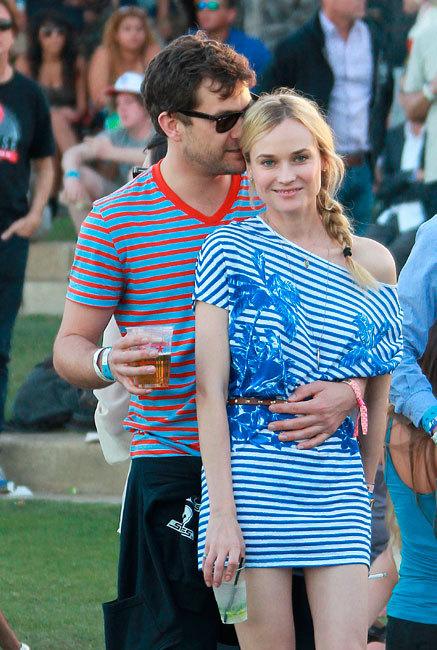 Festival de Coachella, festival del amor, ¡arriba las parejitas de celebrities!