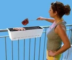 Una barbacoa para el balcón