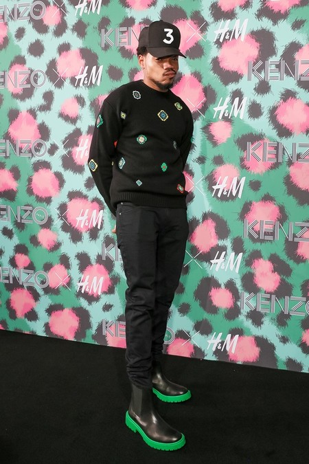 Kenzo X Hm Nyc Event Chance The Rapper
