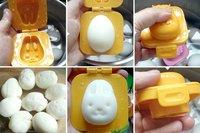 Divertidos moldes para huevos duros