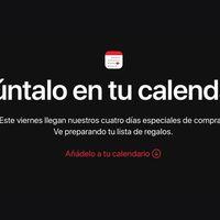 Apple celebrará su Black Friday durante cuatro días