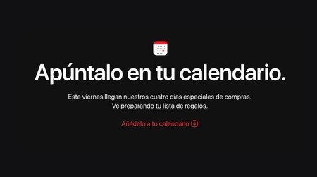 Apple celebrará su Black Friday durante cuatro días