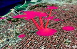 Por dónde se mueven los turistas en las ciudades