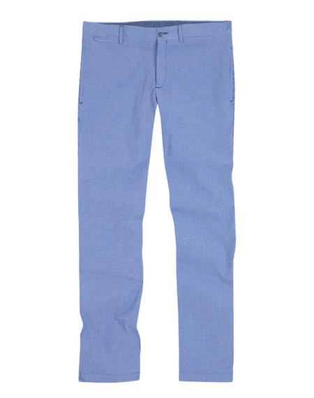 Pantalon celeste Emidio Tucci