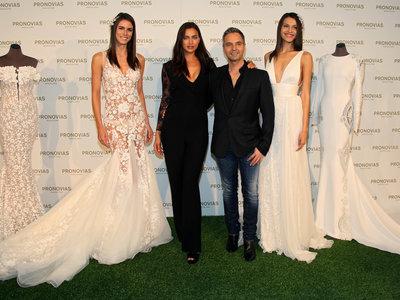 Irina Shayk vuelve a España como invitada de excepción de Pronovias