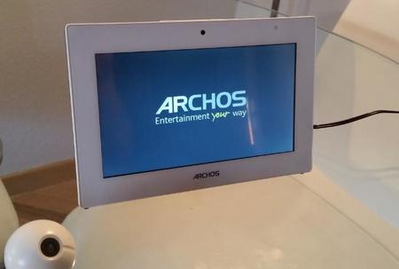Archos Smart Home arrancando