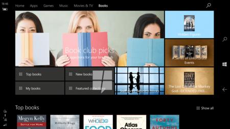La posibilidad de comprar libros desde la Tienda de Windows 10 llegará con la Creators Update