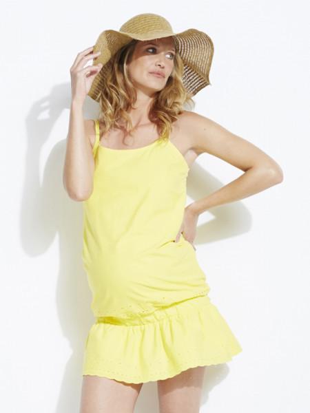 Los mejores vestidos premamá para comprar en las rebajas