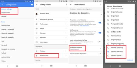 Google Assistant Espanol Mexico Google Home Mini