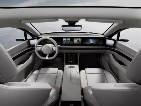 El Sony Vision-S no será un coche eléctrico de producción, pero Sony quiere poner una PlayStation en todos los coches autónomos