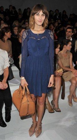 Semana de la Moda de París Alexa Chung