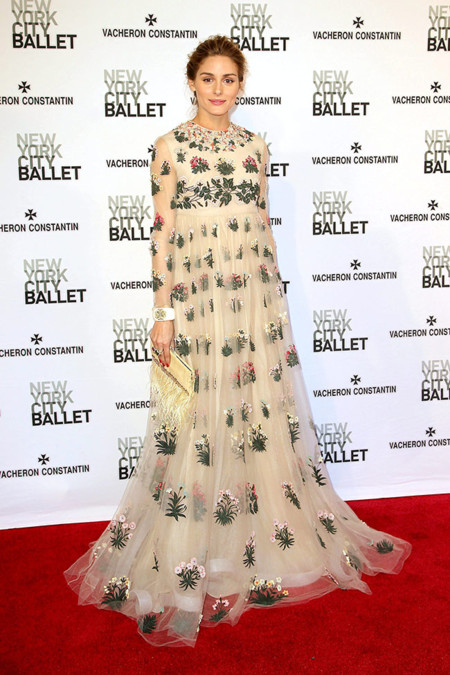 Olivia Palermo Nueva York Ballet 2015 Valentino 2