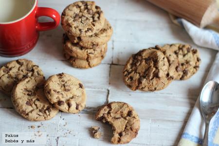 Recetas de verano para hacer con peques: galletas con pepitas de chocolate