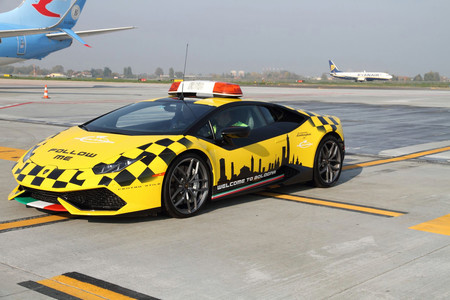 Lamborghini Huracán Aeropuerto de Bolonia
