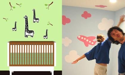 Blikids, pegatinas autoadhesivas para decorar la habitación infantil