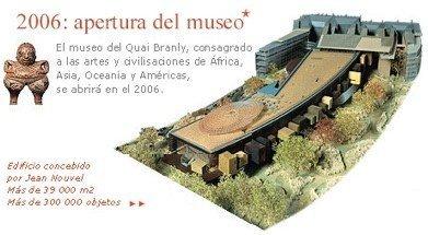 El Museo del Quai Branly abrirá sus puertas el 23 de junio