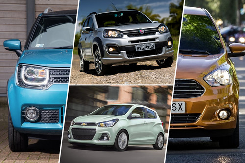 ¿Cuál me llevo? Fiat Uno vs. Ford Figo vs. Suzuki Ignis vs. Chevrolet Spark