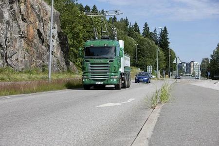 Camión Scania eléctrico