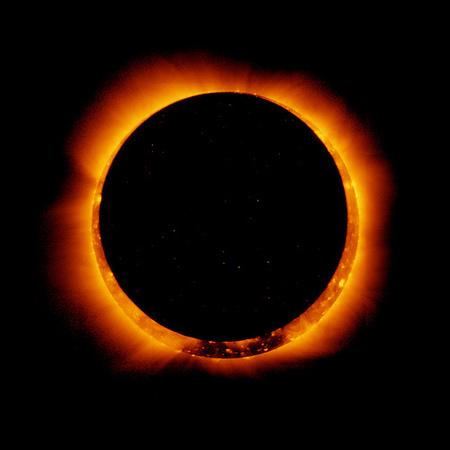 Las fotografías del eclipse anular de sol de 2012