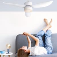 SPC anuncia sus nuevos ventiladores de techo conectados, Conforto DC Lite y DC Max, que se pueden usar en invierno y verano