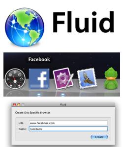 Fluid, otro Prism para Mac OS X