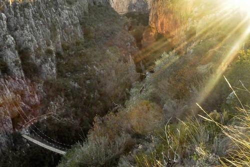 Ruta por los cañones del Turia y los puentes colgantes de Chulilla