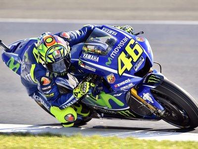 Valentino Rossi ingresado después de sufrir un accidente entrenando motocross