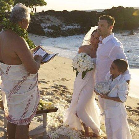 ¡Por fin vemos las fotos de la boda de Megan Fox!