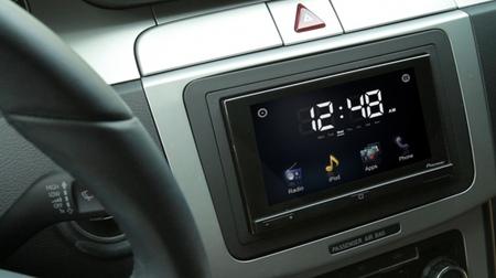 Pioneer AppRadio en un Volkswagen Passat