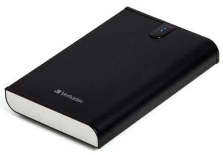 Disco duro portátil de Verbatim con eSATA, hasta 500 GB de veloz capacidad