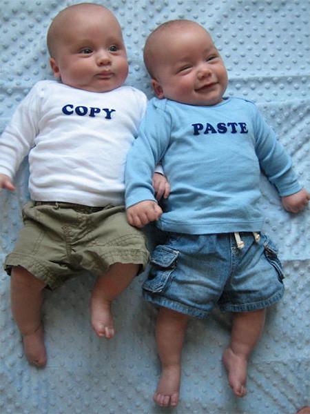 Un poco de humor: los niños-clon