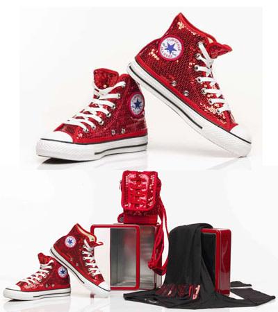 Zapatillas Converse para Navidad