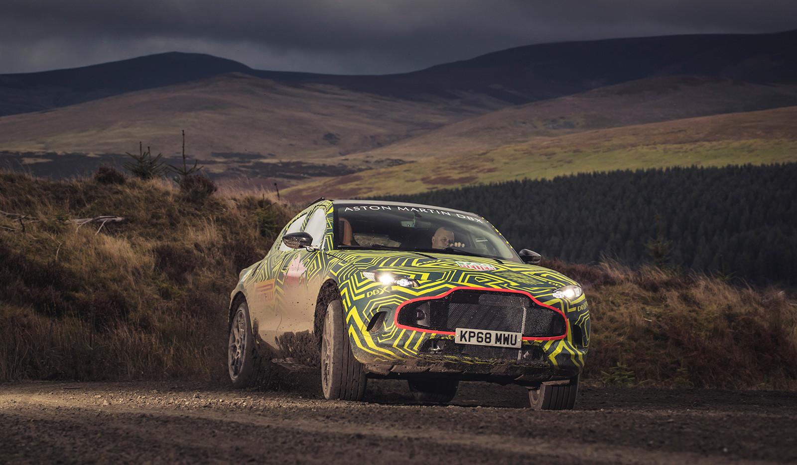 Foto de Aston Martin DBX, primeras imágenes (9/13)