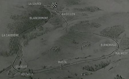 Shell revive el Gran Premio de Bélgica de 1955 a través de un pequeño film