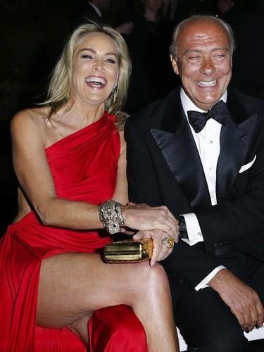 ¿Qué fue de ese cruce de piernas sexy que tú antes te marcabas, Sharon Stone?