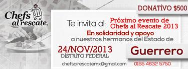 Chefs al rescate. Cocinando por un México mejor