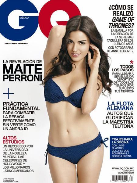 Maite Perroni GQ Mexico Mayo