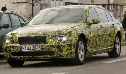 Fotos espía del BMW Serie 7: premio al mejor camuflaje del año