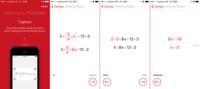PhotoMath, resolviendo ecuaciones con la cámara de tu iPhone