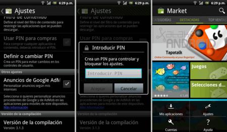 Actualización Android Market