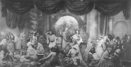 Oscar Gustav Rejlander Gustaf Two Ways Of Life Dos Caminos 1857 Albumina Grande