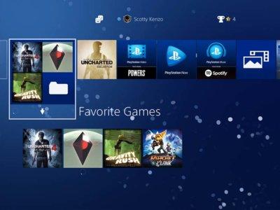 Carpetas, menús dentro de los juegos y mucho más en la actualización 4.00 del PS4